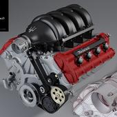 Двигатель Maserati