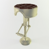 bar stool at the steampunk style