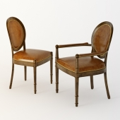 Baker oval chairs