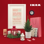 IKEA Christmas decor