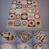 Nourison / Mondrian Multi-Coloured set 1