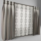 curtains are combined