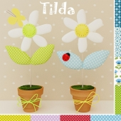 Decorative flowers baby