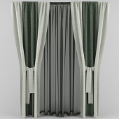 curtains with strings