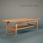 Skagen Coffee Table by Design Within Reac