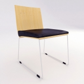 Contemporary Sled Base Chair 11520 1941795