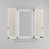 The double window shutters