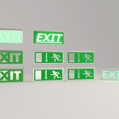 Табличка EXIT