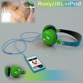 iPod nano с наушниками Roxy/JBL