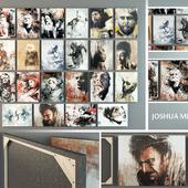 paintings by Joshua MIielis