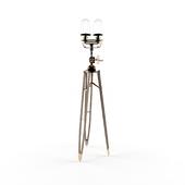 Steampunk floor lamp