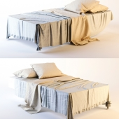 Single bed.High poly
