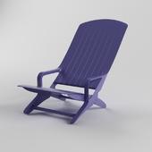 """Раскладное Пластиковое кресло """"Шезлонг"""""""
