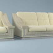 Sofa and armchair Florence collection