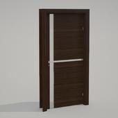 Door with steklyashka