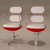 chairs in a hairdresser