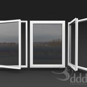 detailed alu window