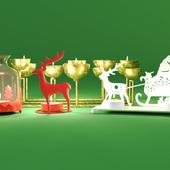 Christmas Candle Holders / ZARA HOME