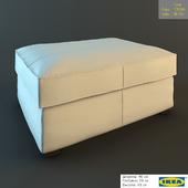 "Табурет для ног ""Кивик"" от IKEA"