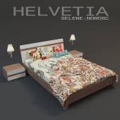 Bed Helvetia (series Selene)