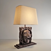 Restoration Hardware - LION'S HEAD TABLE LAMP