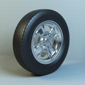Nissan FairladyZ drive and tire