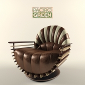 Pacific Green, Luxor Armchair