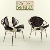 Pacific Green Zulu Dining Chair 2012