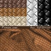 плетеная кожа