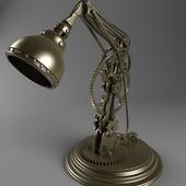 """""""Profi"""", table lamp, steampunk"""