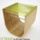 U Stool by Richard Clarkson