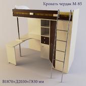 Loft bed M85
