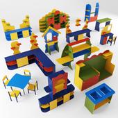 Set of children's furniture DOK17