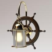 "Ship's wheel sconce ""FAVEL"""