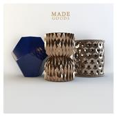 3 ceramic stool from the company MADEGOODS