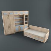Furniture in the nursery boy