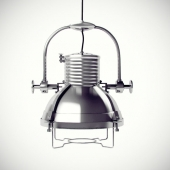 Hanging Lamp Nickel
