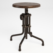 GRAMERCY HOME - ISAAC COUNTER LOW STOOL 445.002B