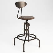 GRAMERCY HOME - ISAAC COUNTER STOOL 445.002A