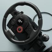 Game steering wheel Logitech G35