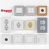 Legrand Cariva switchers and sockets