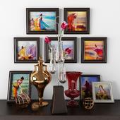 Картины и вазы