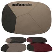 4 leather carpets Manifesto campa