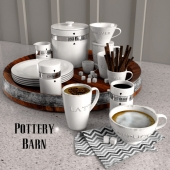 Pottery  Barn  COFFEE MUGS