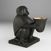 Eichholtz Monkey With Light Art Deco
