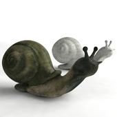 """Garden sculpture """"Snail"""""""