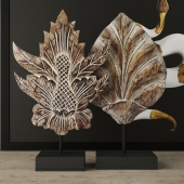 Albesia Wood Carved Decoration