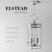 Guildhall Pendant Polished Nickel