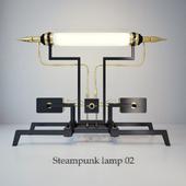 Steampunk lamp 02
