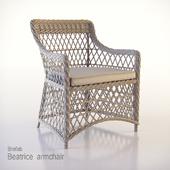 Beatrice armchair Brafab